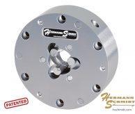 Hermann Schmidt Stainless Steel Precision Three Jaw Chuck – Round 1″ – 2″ capacity