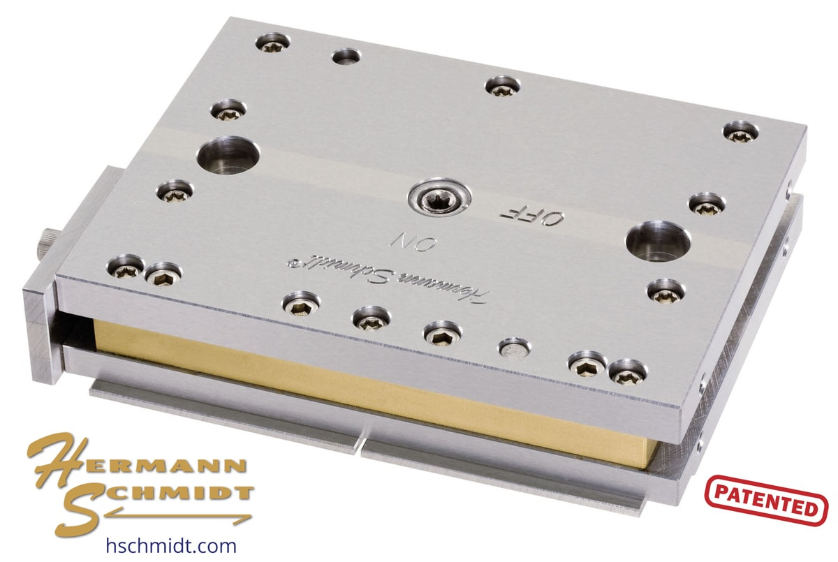 Stainless Steel Magnetic Chuck for Wire EDM. Patented by Hermann ...