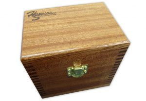 """Mahogany Case for 4"""" Round Magnetic Chuck"""