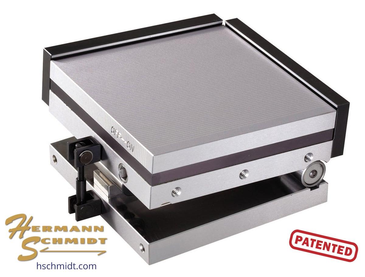 Fine Pole Magnetic Sine Plate 4 X PM4x4FPH Hermann
