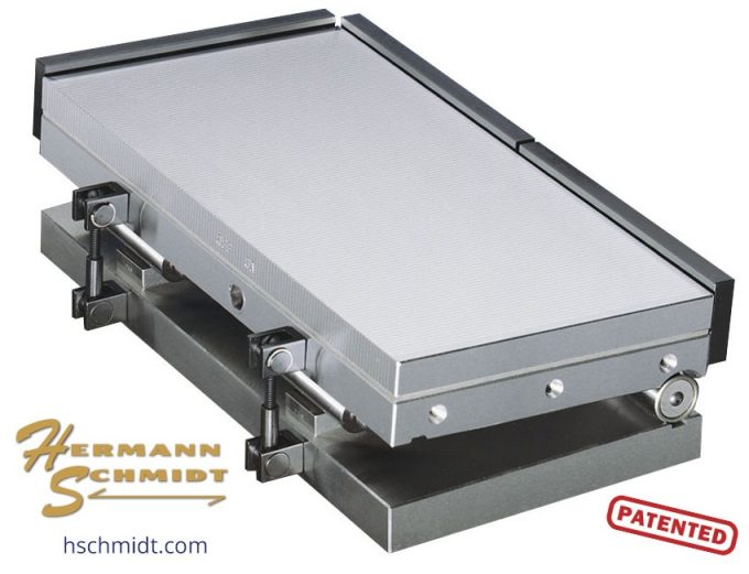 Hermann Schmidt Fine Pole Magnetic Sine Plate 6 x 12