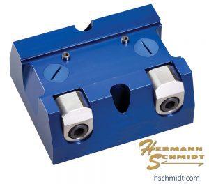 "Hermann Schmidt Aluminum Dovetail Fixture - Double Clamp 2.25"" – RDTAL225-2"