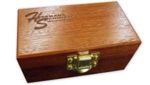"""Mahogany Case for 1 1/2"""" Vise"""