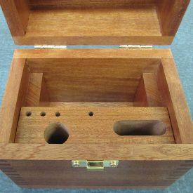 Interior of Mahogany Case for MSB4x4
