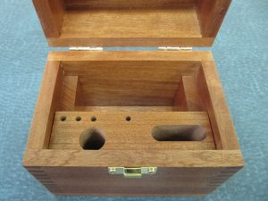 Interior of Mahogany Case for MSB4x4