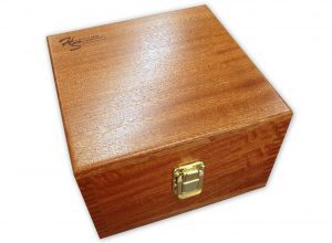 """Mahogany Case for 4"""" Sine Plate"""