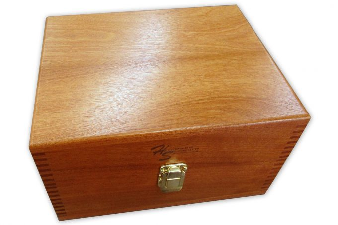 """Mahogany Case for 6"""" Sine Plate"""
