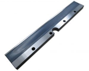 "12"" Rail with Holes - notched"