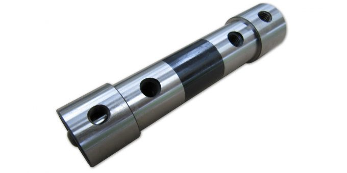 "Rear Roll for 4""x6"" Non- Magnetic Sine Plate"
