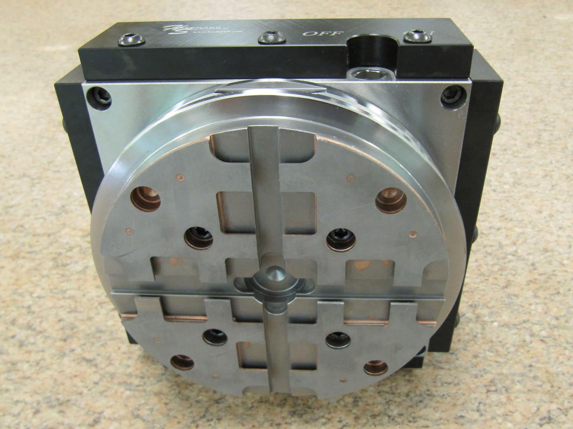 6 Quot X6 Quot Hard Milling Magnet On System 3r Macromagnum Pallet