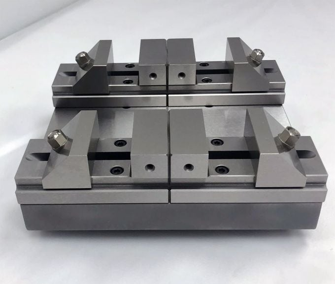 Precision Vises on System 3R Macro Pallet