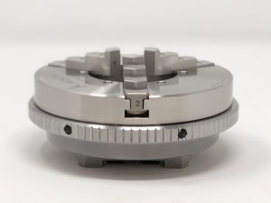 Edge View Stainless Steel Scroll Chuck on System 3R Macro