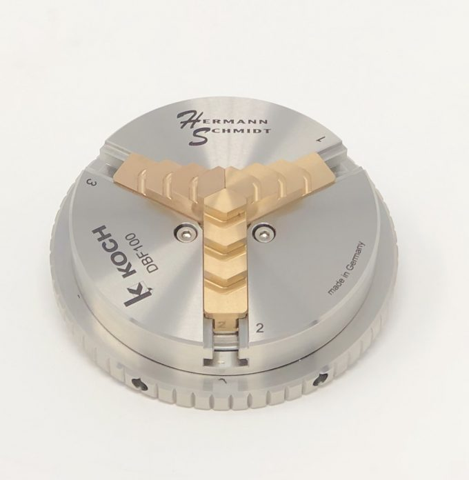 Stainless Steel Scroll Chuck Non-Magnetic Version